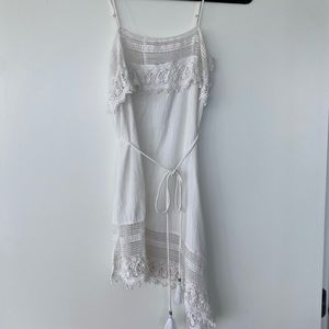 Miguelina Crochet Beach Cover Up